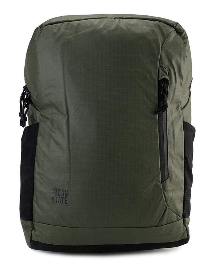 Poly Nylon Campus Backpack - Green