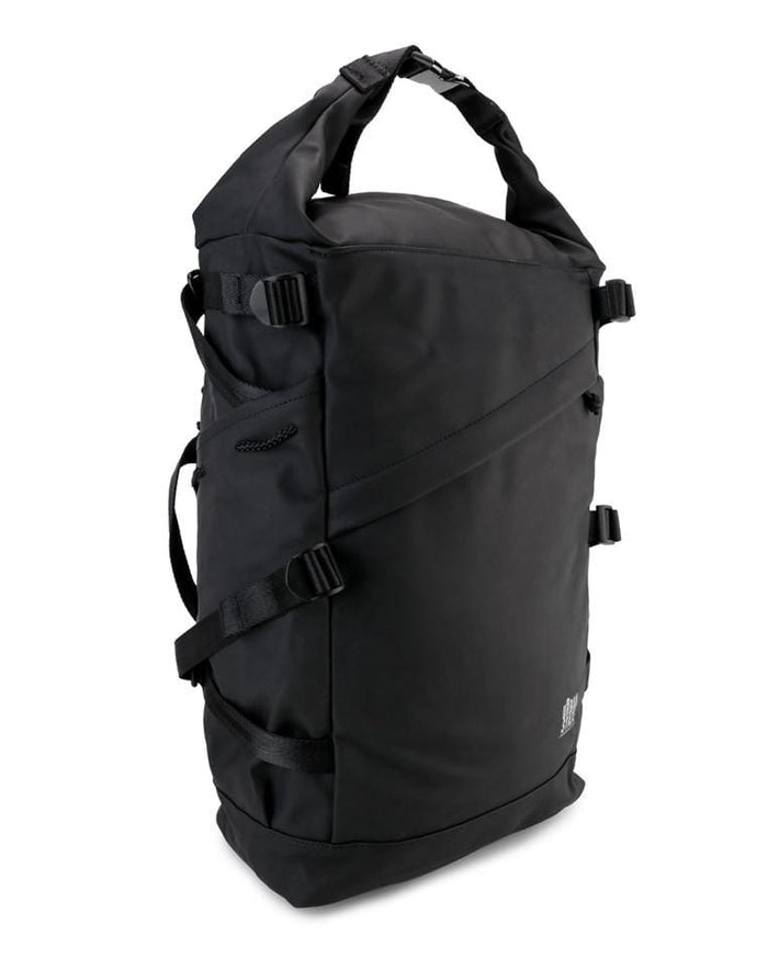 Coated Dry Foldover Backpack - Black Backpacks - Urban State Indonesia