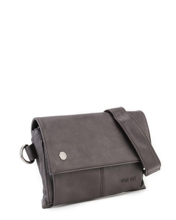 Distressed Leather Nomad Pouch Clutch - Brown Clutch - Urban State Indonesia