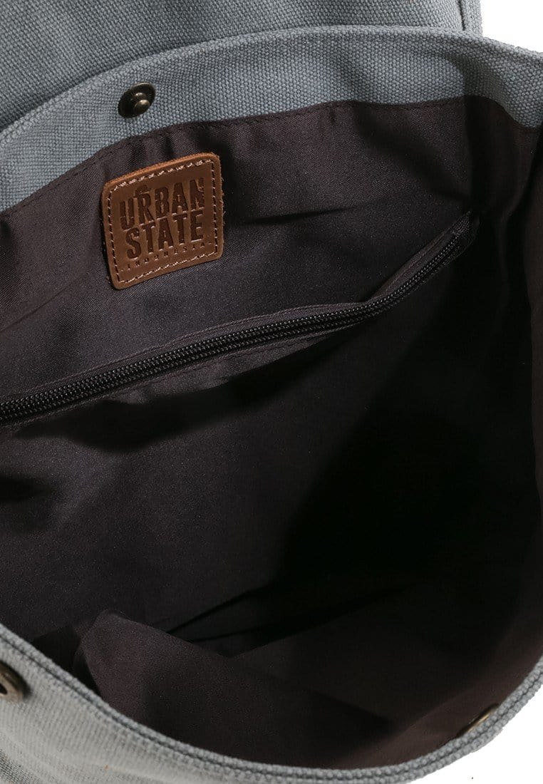 Canvas Top Grain Tote Backpack - Light Grey Backpacks - Urban State Indonesia