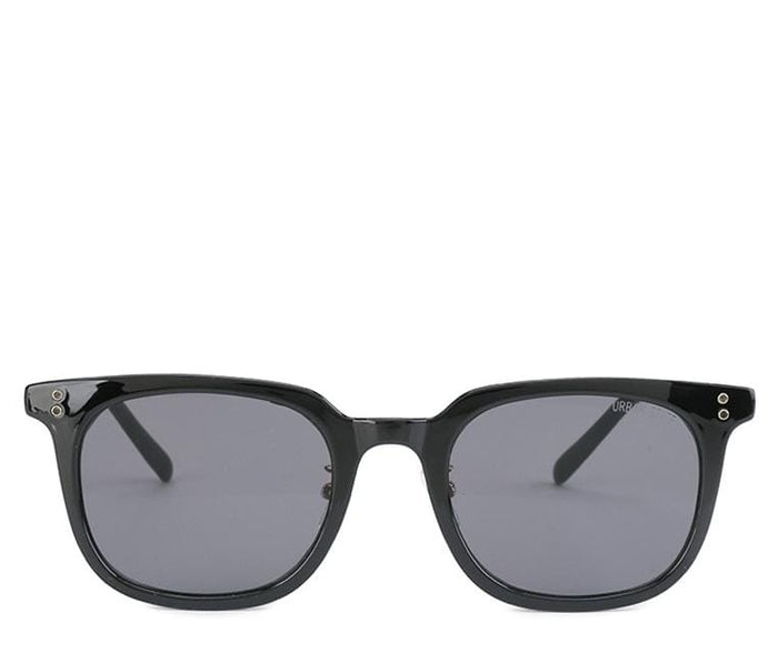 Vintage Retro Rectangular Sunglasses - Black Black Sunglasses - Urban State Indonesia
