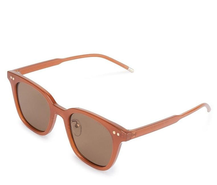 Vintage Retro Framed Sunglasses - Brown Brown Sunglasses - Urban State Indonesia
