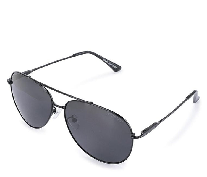 Polarized Oval Lead Aviator Sunglasses - Black Black Sunglasses - Urban State Indonesia