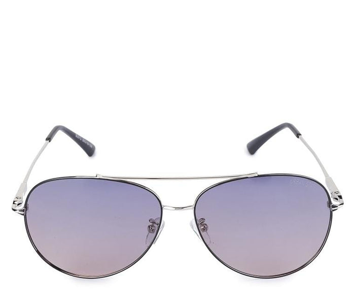 Polarized Oval Lead Aviator Sunglasses - Purple Silver Sunglasses - Urban State Indonesia