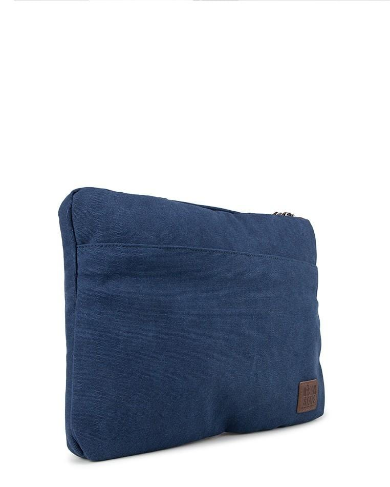 Canvas PU Laptop Sleeve - Navy Tote Bag - Urban State Indonesia
