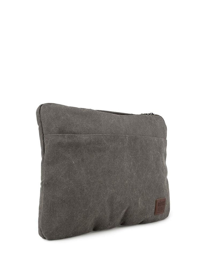 Canvas PU Laptop Sleeve - Grey Tote Bag - Urban State Indonesia
