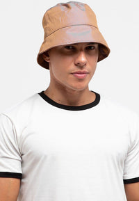 Sleek Bucket Hat - Brown