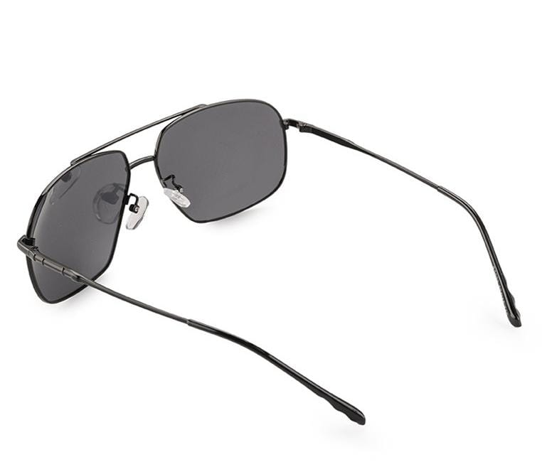 Polarized Curved Aviator Sunglasses - Black Black Sunglasses - Urban State Indonesia
