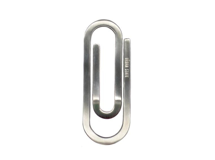Paper Clip Money Clip - Silver Money Clip - Urban State Indonesia