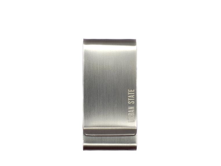 Double Sided Money Clip - Silver Money Clip - Urban State Indonesia