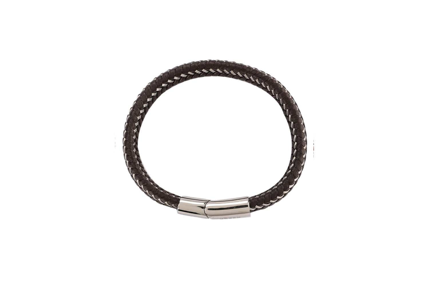 Multi-Strand Woven Leather Bracelet - Brown Bracelets - Urban State Indonesia