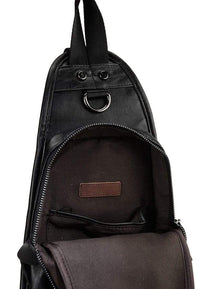 Pu Original Contrast Slingbag - Black Slingbags - Urban State Indonesia