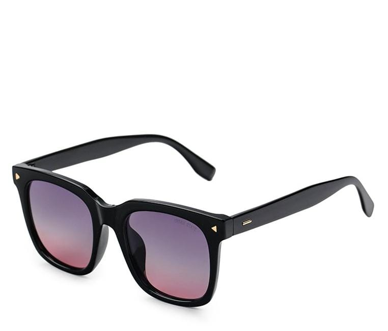 Polarized Square Glossy Framed Sunnies Sunglasses - Urban State Indonesia
