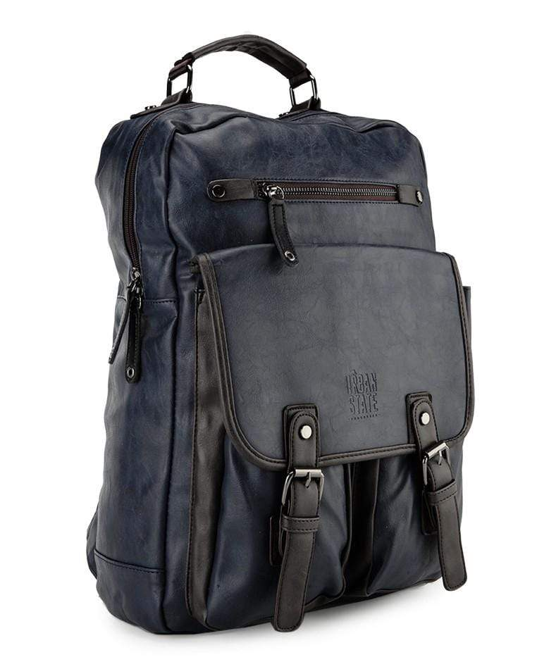 Pu Utility Large Backpack - Navy
