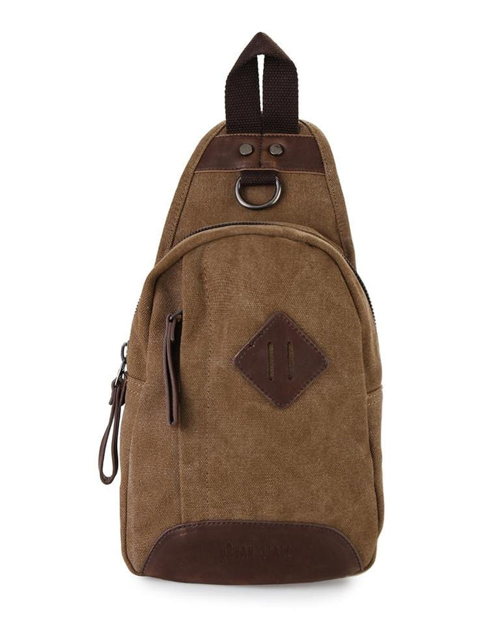 Canvas Original Small Slingbag - Brown Slingbags - Urban State Indonesia