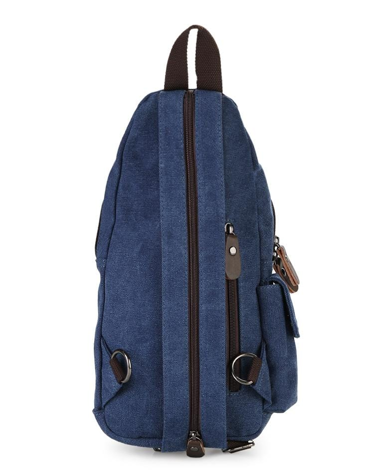 Canvas Utility Sling Bag - Navy Slingbags - Urban State Indonesia