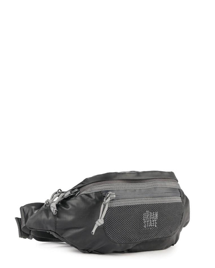 Poly Nylon Mesh Small Waist Pack - Black Waist Packs - Urban State Indonesia