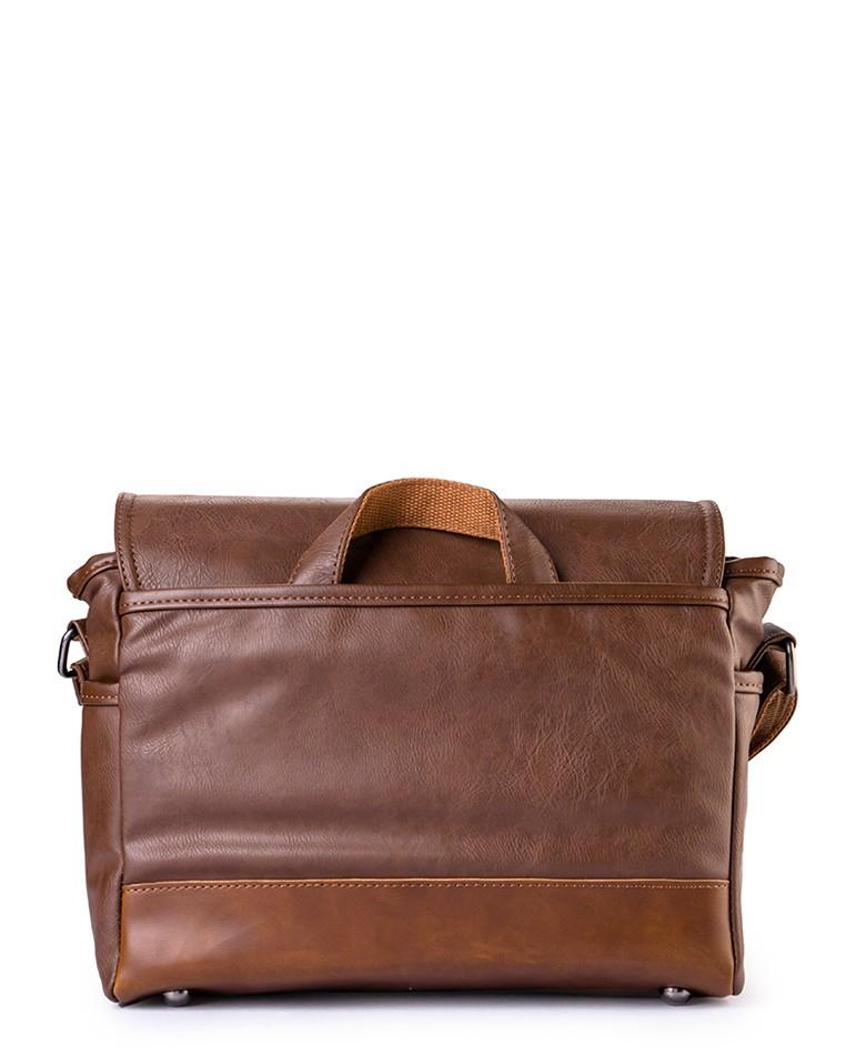 Distressed Leather Camera Bag - Dark Brown Messenger Bags - Urban State Indonesia