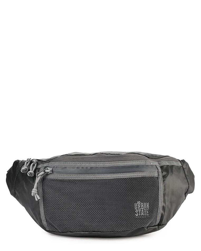 Poly Nylon Mesh Medium Waist Pack - Black Waist Packs - Urban State Indonesia