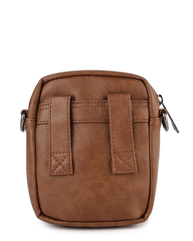 Distressed Leather EDC Waist Pack - Camel Waist Packs - Urban State Indonesia