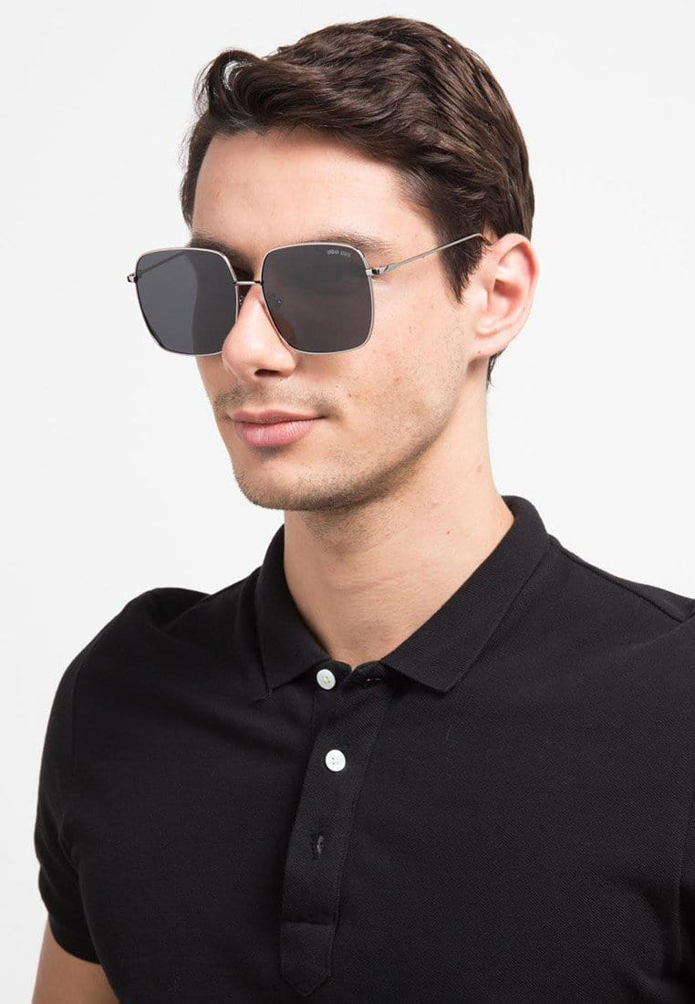 Polarized Oversized Square Sunglasses - Black Sunglasses - Urban State Indonesia