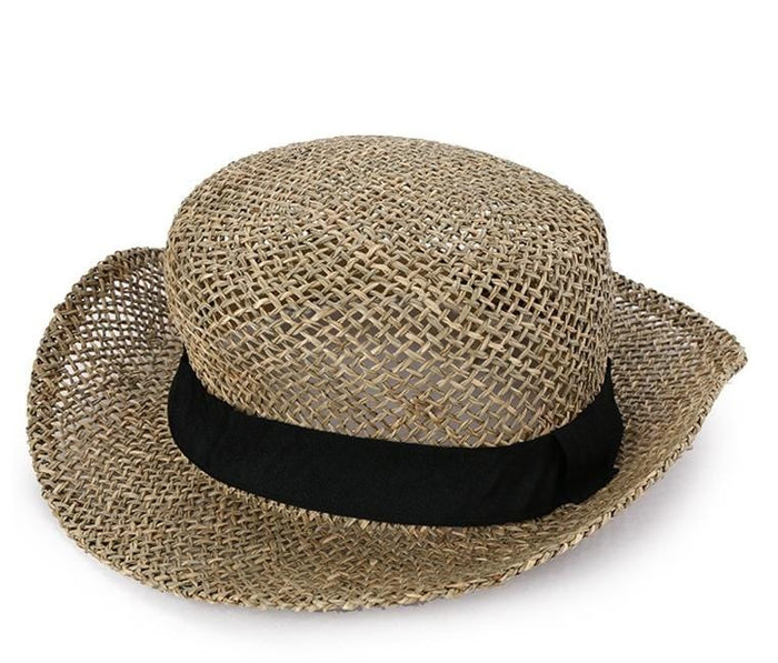 ... Natural Straw Bucket Hat Fedora Hat - Urban State Indonesia 8a21784a13