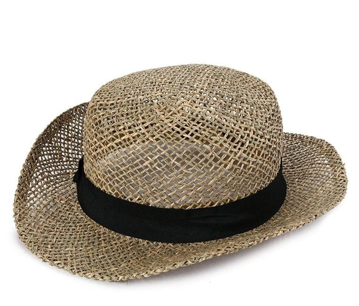 Natural Straw Bucket Hat Fedora Hat - Urban State Indonesia ... 1a817899bb
