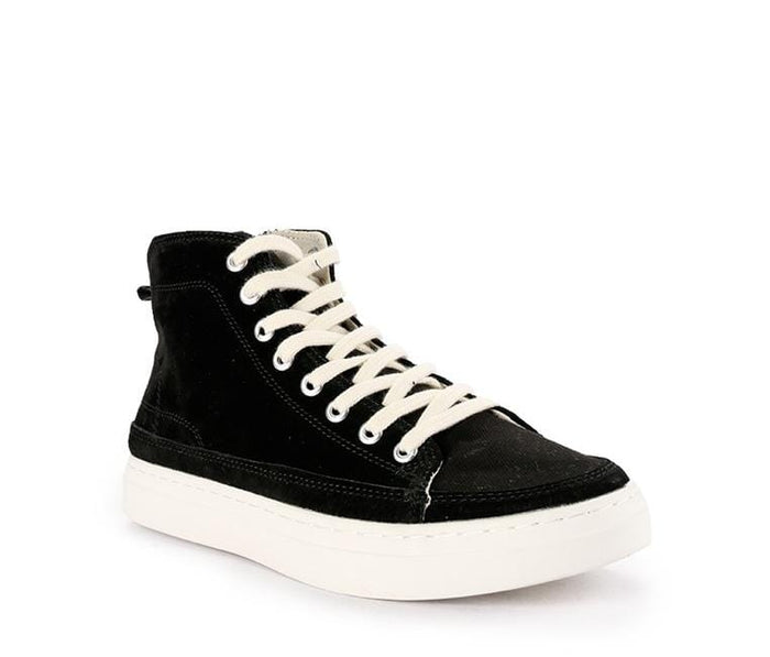 Zipped Lace Up High Top Sneakers Sneaker - Urban State Indonesia