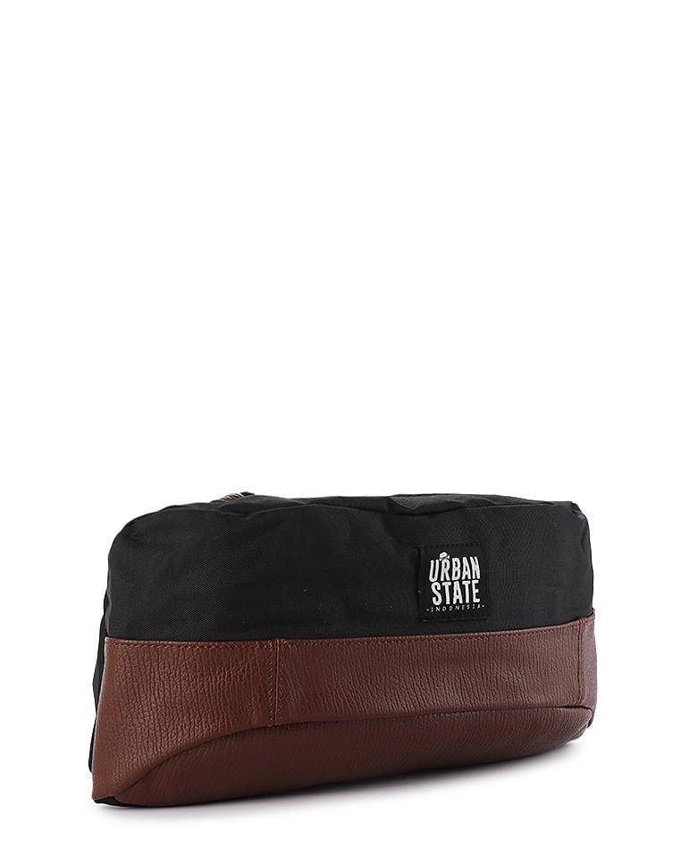 Poly Canvas Dual Tone Waist Pack Waist Packs - Urban State Indonesia