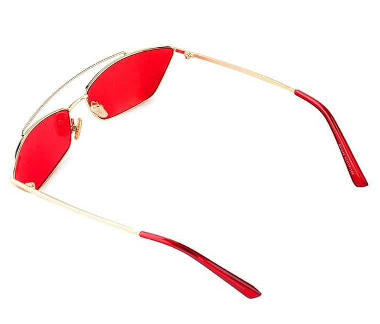 Voyager Tinted Sunnies - Red