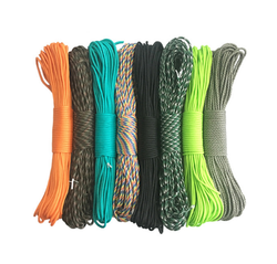 Paracord 550 Parachute Cord Lanyard Rope Type III 7 Strand 100FT Climbing Camping survival equipment