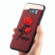 New Rose Design Protective Case - For Samsung Galaxy S8 or S8 Plus