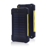 New Portable Waterproof Solar Power Bank 20000mah Dual-USB