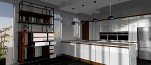 Kitchen unit drawings