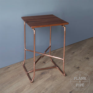 Copper Pipe Botanical Plant Stand