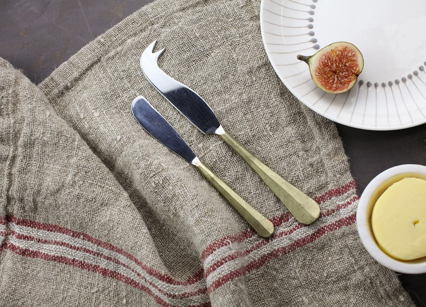 Nkuku Osko Cheese & Butter Knife Set