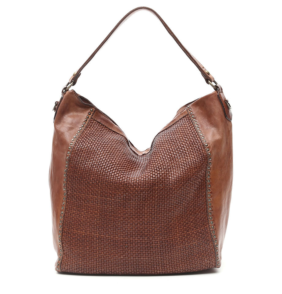 Campomaggi - Large Hobo Bag, Cognac, C008650ND