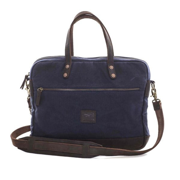 Suedebird Eli Computer Bag Navy -LAST ONE!