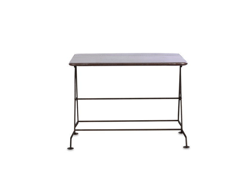 Nkuku Ekete Iron Folding Console Table
