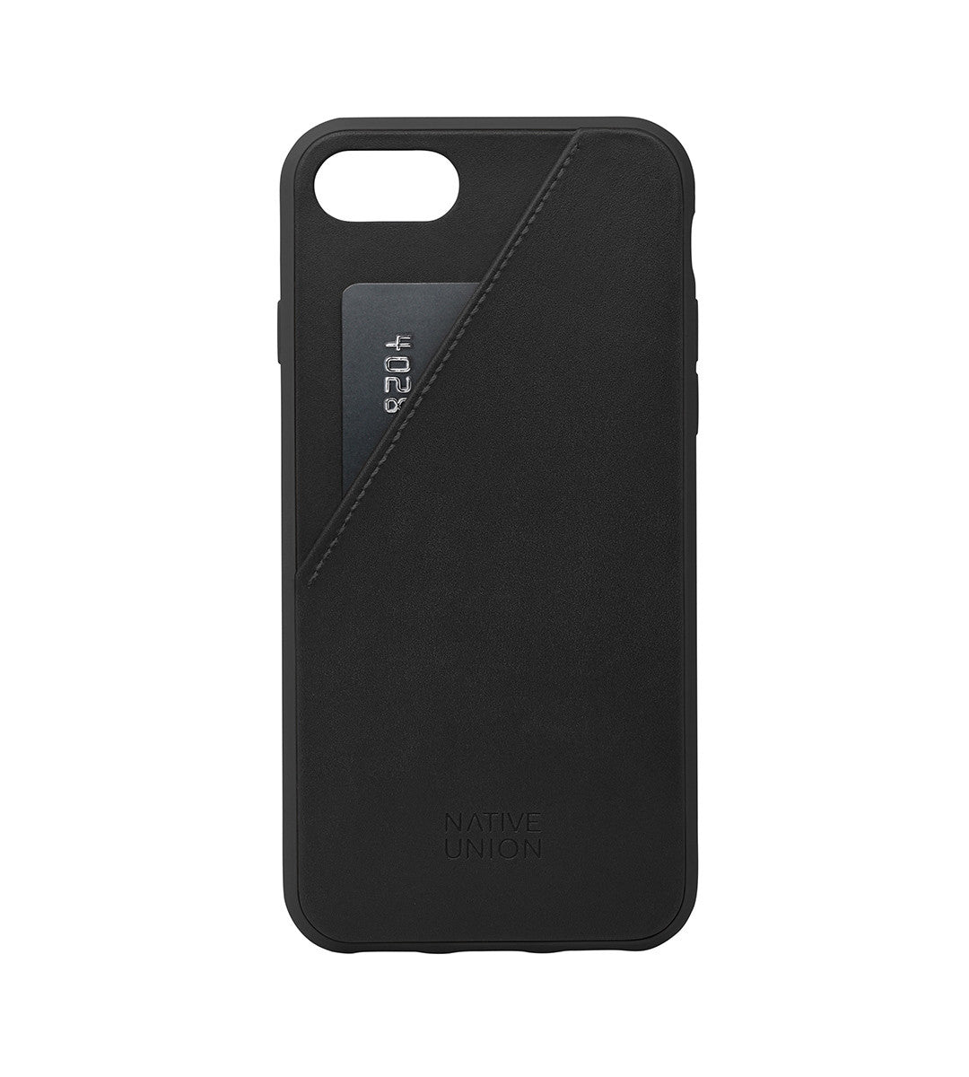 Native Union Clic Card Leather Phone Case