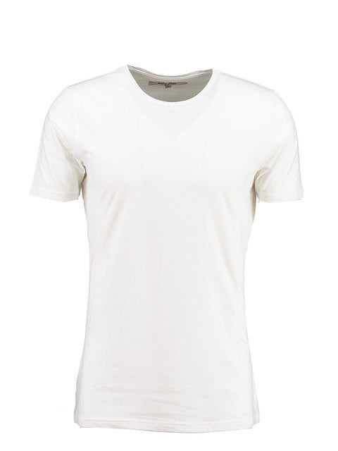 Garcia ENRICO Men's White T-Shirt