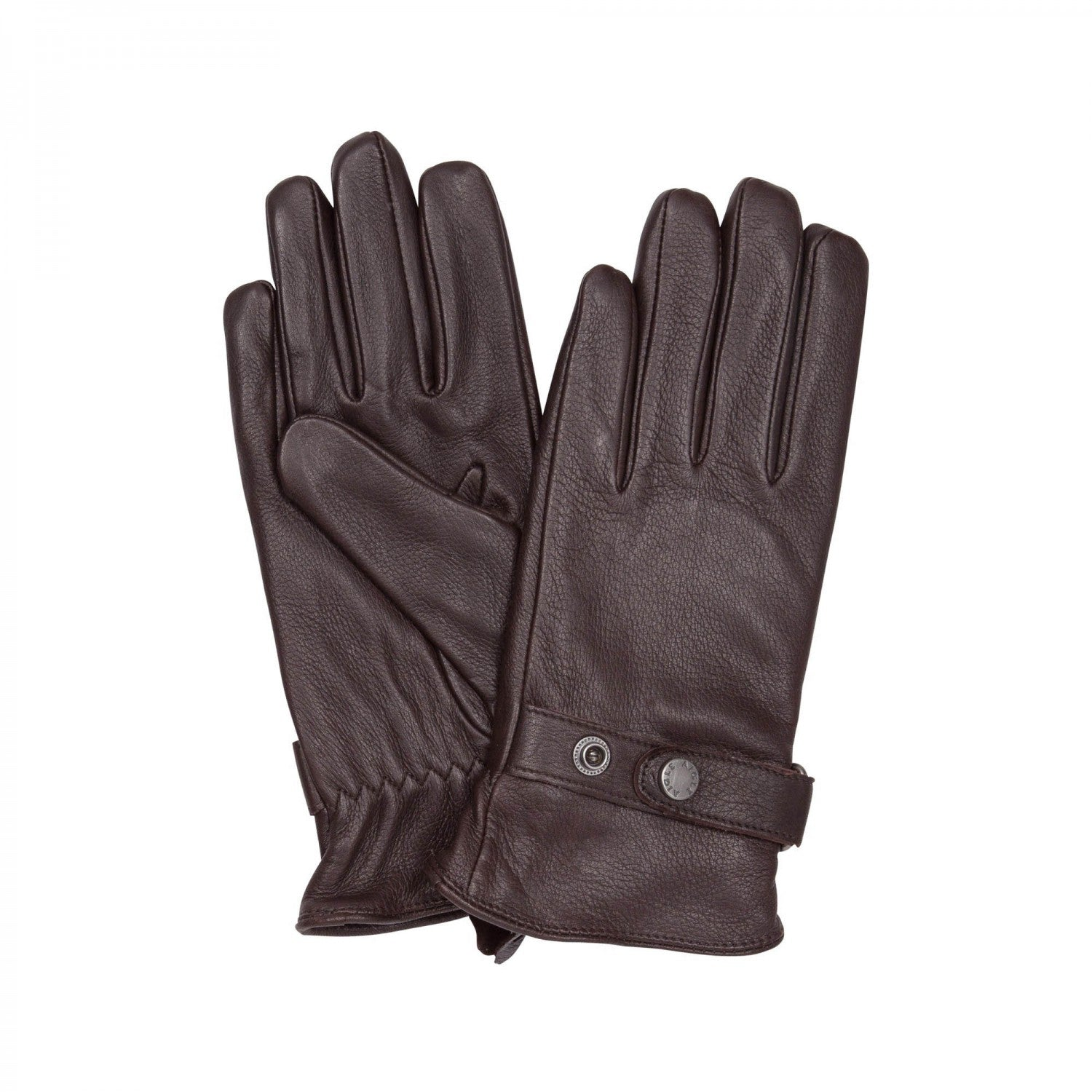 Aigle Gilmor Dark Brown Leather Gloves - LAST SIZES REDUCED!!