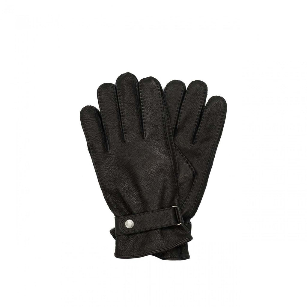 Aigle Gilmor Black Leather Gloves