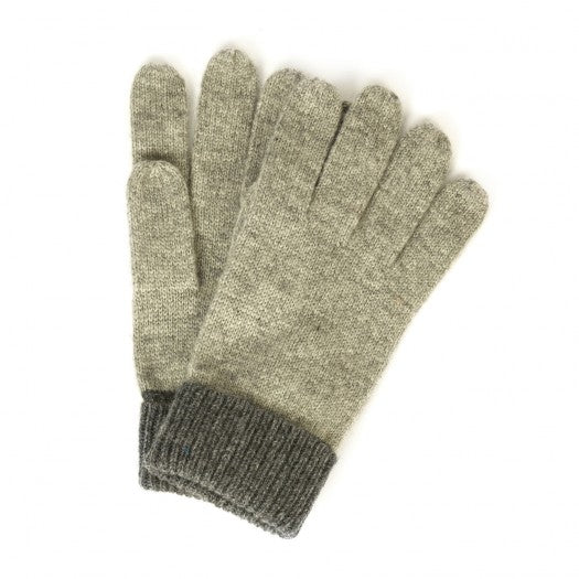 Aigle Heather Grey Flyglov Woollen Gloves