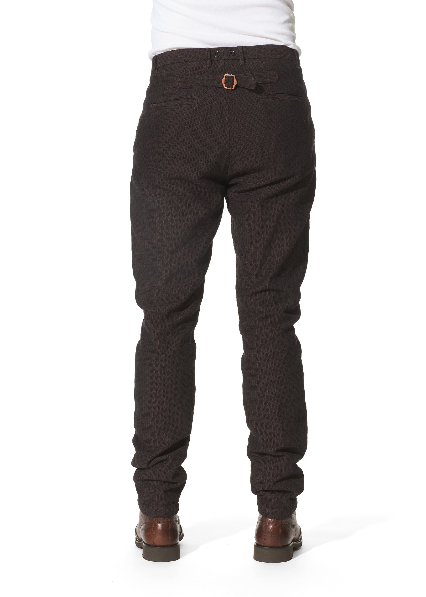 Claes Goran Pacifist Herringbone Trousers