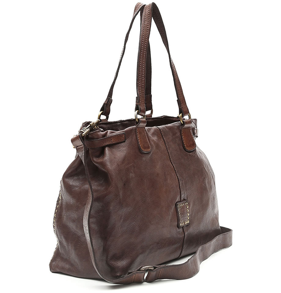 Campomaggi - Medium Shopper, Dark Brown, C008760ND