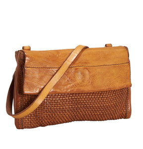 Campomaggi - Small Pochette bag, Cognac, C008740ND