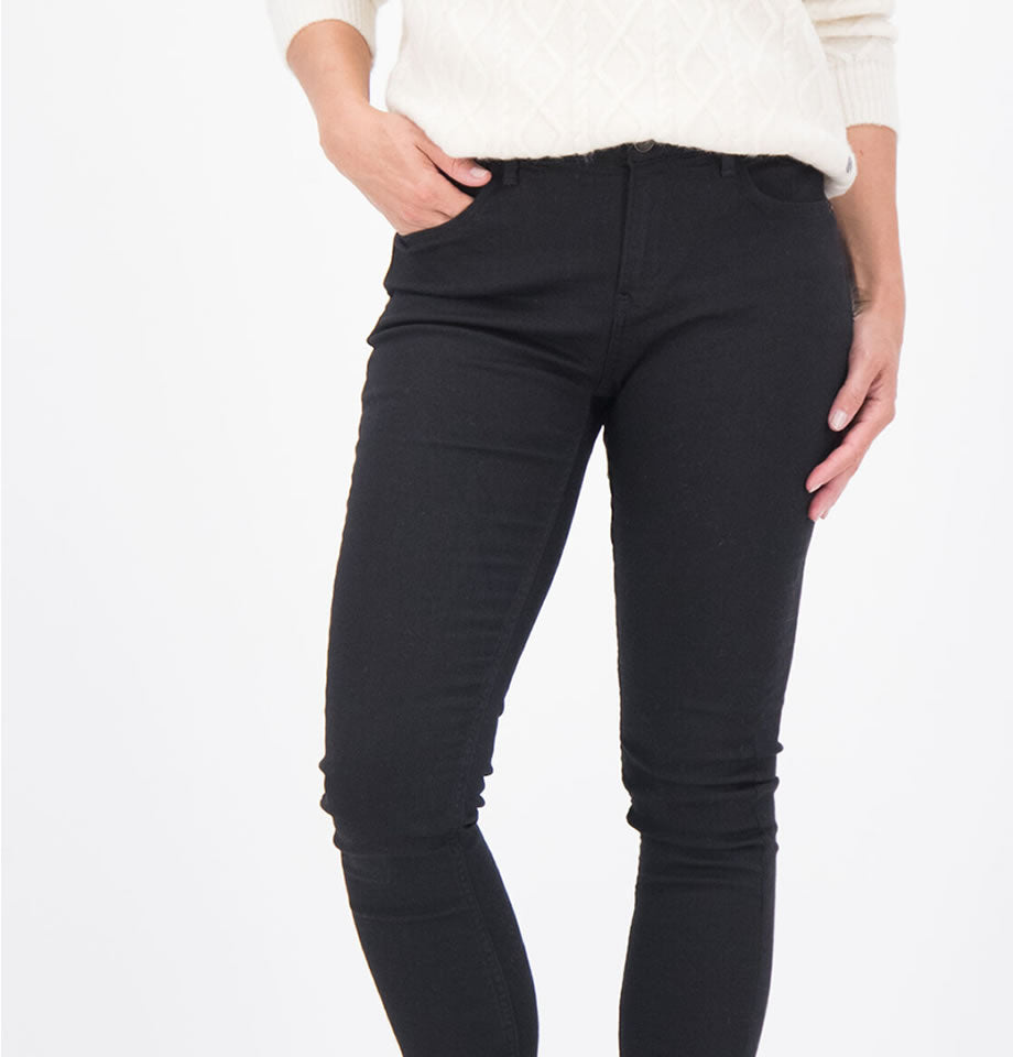 Ladies High Waisted Celia Jeans Super Slim 5512