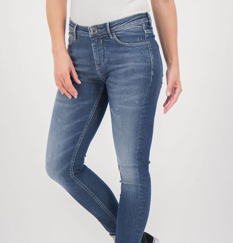 Celia, High-Waisted, Super-Slim Jeans, 6890