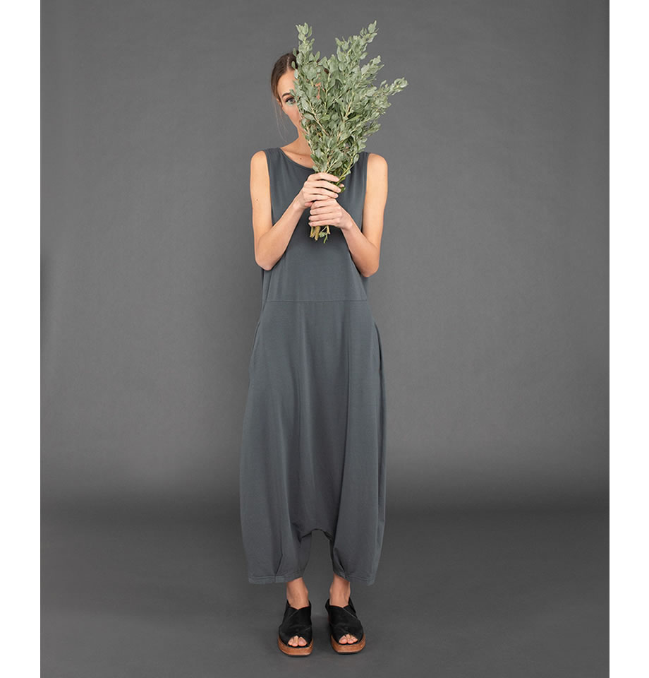 IOS Cotton Tuta Jumpsuit Lava